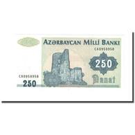 Billet, Azerbaïdjan, 250 Manat, KM:13b, NEUF - Azerbaïdjan