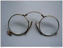 BÉSICLES PINCE NEZ . OPTICIEN E. RAGON À BAYONNE - Réf. N°12 PO - - Brillen