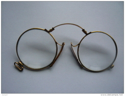 BÉSICLES PINCE NEZ . OPTICIEN E. RAGON À BAYONNE - Réf. N°12 PO - - Glasses