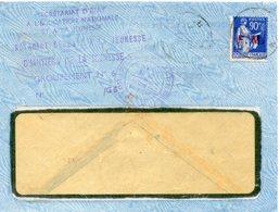LES CHANTIERS DE LA JEUNESSE GROUPEMENT N°6 DE GEVAUDAN - Marcophilie (Lettres)