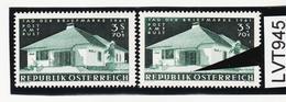 LTV945 ÖSTERREICH 1961 Michl 1100 PLATTENFEHLER FARBFLECK STIEGEN ** Postfrisch - Abarten & Kuriositäten