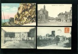 Beau Lot De 60 Cartes Postales De France  Manche      Mooi Lot Van 60 Postkaarten Van Frankrijk ( 50 ) - 60 Scans - Cartes Postales