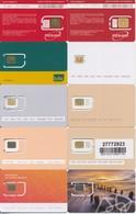 LATVIA / 10 Different GSM Sim-cards / MINT - Latvia