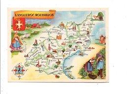 CHROMOS LION NOIR - REGIONS DE FRANCE - LANGUEDOC ROUSSILLON - Trade Cards
