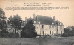 Charnay Lès Mâcon Château De Condemine 37 Petit La Bourgogne Historique Le Mâconnais - Altri Comuni