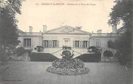 Charnay Lès Mâcon Château De La Tour De L'Ange 716 Collection Prudon - Altri Comuni