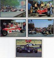Lot De 5 Images Panini F1 Grand Prix. - Panini