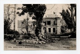 - CPA ANIZY (02) - Bataille De L'Aisne 1918 - Maison De M. DOUMER - Edition Givry 274 - - Frankreich