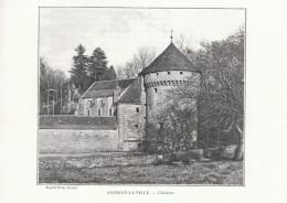 1902 - Phototypie - Antigny-la-Ville (Côte-d'Or) - Le Château - FRANCO DE PORT - Unclassified