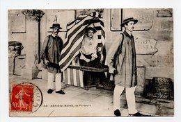 - CPA NÉRIS-LES-BAINS (03) - Les Porteurs 1910 (belle Animation) - N° 159 - - Neris Les Bains