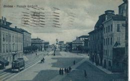 MODENA PIAZZALE GARIBALDI 1926 ANIMATA TRAMWAY - Modena