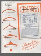 Pleaux (15 Cantal) Prospectus FERNAND GARENNE (cintres)  1937 (PPP9806) - Publicités
