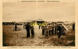 44 Chateau-Bougon, Camp D'Aviation, Les Ailerons Au Cours D'un Examen De Modèles Réduits - France