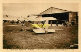 44 Chateau-Bougon, Camp D'Aviation, Ici On S'envole Pour Le Baptême De L'air - France