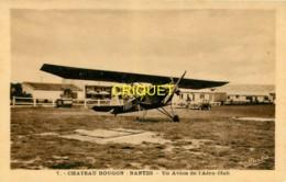 44 Chateau-Bougon, Camp D'Aviation, Un Avion De L'Aéro-Club - France