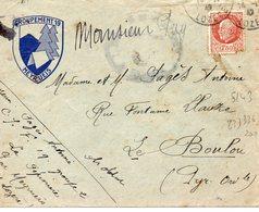 LES CHANTIERS DE LA JEUNESSE GROUPEMENT N°19 DIXMUDE Meyrueis Lozere - Marcophilie (Lettres)