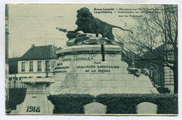 CPA - Carte Postale - Belgique - Bourg Léopold - Monument Aux Morts Pour La Patrie - 1938 (SV6423) - Leopoldsburg