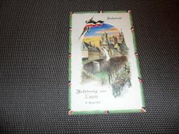 Guerre ( 207 )   Laon 1914 Oorlog   - Hold To Light Tenir à La Lumière Durchscheinend - Carte Allemand Kriegspostkarte - Contre La Lumière
