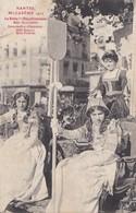 Nantes  Mi Carême 1912 La Reine Des Blanchisseuses Mlle Bourdeille ....    PRIX FIXE - Nantes