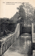 CPA Batellerie  - 45 - DAMMARIE-SUR-LOING - Moulin Brûlé - Anciennes Ecluses - Autres Communes