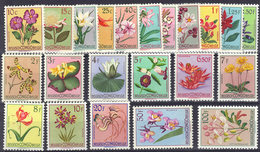 Congo 0302/23* Fleurs Du Congo - MH - 1947-60: Mint/hinged