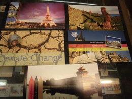 Sammlung UNO NY New York MH 11x Markenheftchen Gestempelt 2000-2013 Welterbe Usw - Markenheftchen