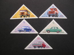 USSR Soviet Automobiles 1971 MNH - Transport