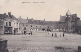 Bouloire  Place Du Chateau  Cachet Hopital Temporaire Bénévole N° 1 Bis Au Verso   PRIX FIXE - France