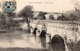CPA - 51 - VITRY-LE-FRANCOIS - Le Pont Canal - Vitry-le-François