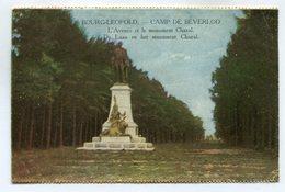 CPA - Carte Postale - Belgique - Bourg Léopold - Camp De Beverloo - L'Avenue Et Le Monument Chazal - 1925 (SV6425) - Leopoldsburg (Camp De Beverloo)