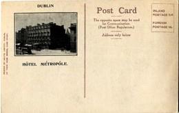 Irlande Dublin Hotel Metropole Irish International Exhibition 1907 - Dublin