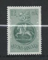 Finlande 1948 N° 343A Neuf ** MNH Surtaxe Pour Expo Philatélique D'Helsinki - Finland