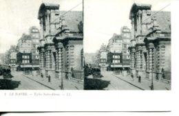 N°66927 -carte Stéréoscopique Le Havre - Estereoscópicas