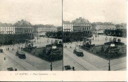 N°66932 -carte Stéréoscopique Le Havre - Estereoscópicas