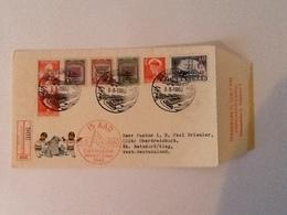 Mi.17/18/19/40 Danmark Befriet 5 Maj 1945 5-5-1960 - Lettres & Documents