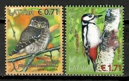 Latvia  2016 Letonia / Birds MNH Vögel Aves Oiseaux  / Cu10127  41 - Vogels