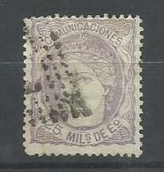 ESPAÑA EDIFIL 106 - 1868-70 Gouvernement Provisoire