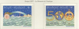 PIA  -  BELGIQUE  -  1992  : Europa  (Yv  2454-55) - Belgium