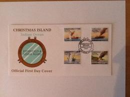Christmas Island FDC Indian Ocean 17 June 1993 - Christmas Island