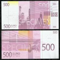 BILLET FICTIF DE 500€ . AFIBEL . - Fictifs & Spécimens