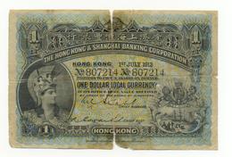 1 DOLLAR 1ER JUILLET 1913 - Hong Kong