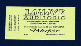 Sala LANAVE (1990) - Tickets De Concerts