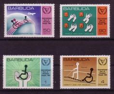 BARBUDA 1981 MNH, Michel 572/575 - Antigua And Barbuda (1981-...)