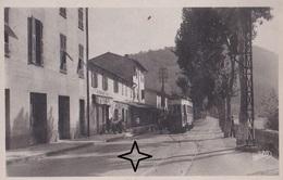 CONTES Tramway à La Pointe De Contes. Ligne Nice à Contes. - Contes