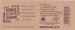 LE PORTRAIT DU TIMBRE - Carnets