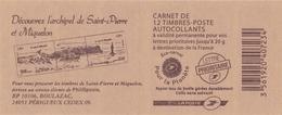 DECOUVREZ L ARCHIPEL DE ST PIERRE ET MIQUELON - Definitives