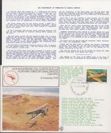 3345  Carta  Flow Flight ,  1º Vuelo,Brisbane Q. Australia 1980 - Storia Postale