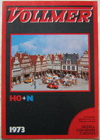 VOLLMER Katalog H0 N 1973 Preisliste - Books And Magazines