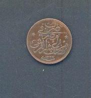 EGYPTE - 1/20e Guerche – An 4 AH 1327 – Bronze - Egypte