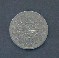 EGYPTE - 1 Guerche – An 25 AH 1293 – Nickel - Egypte